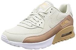 Nike Women's Air Max 90 Ultra SE Deep Pewter/Deep Pewter/White Running Shoe 7.5 Women US
