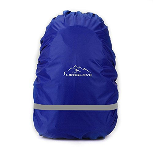 Likorlove Waterproof Backpack Rain Cover 30L-40L with Reflective Strip for Hiking/Camping/Traveling/Outdoor Activities