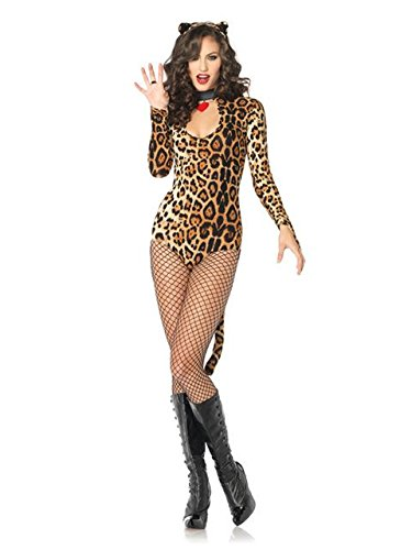Cougar Costume (Sexy Women's Wicked Wildcat Cougar Costume)