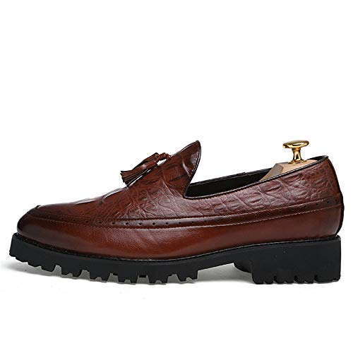 stile Resistente high all'abrasione EU Marrone nappa Sunny da comode casual amp;Baby Oxford Classico uomo Marrone 43 Color cerimonia Fashion e Dimensione end Business Casual scarpe da 44U7SwHqa