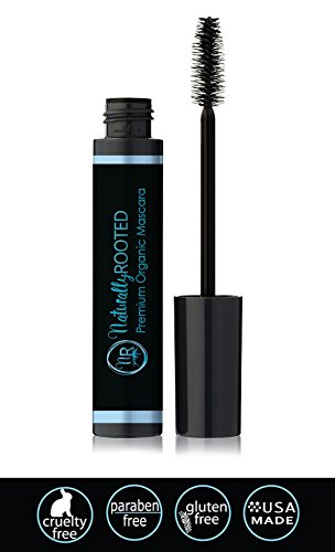 Premium-Organic-Mascara-Black-100-Natural-85-Organic-Enriched-with-Chamomile-Sunflower-Oil-Paraben-Gluten-Free-Strengthens-Moisturizes-Great-for-Sensitive-Eyes-Made-in-USA