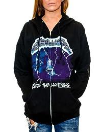 Metallica - Ride The Lightning Zip Hoodie
