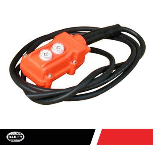 HPU Remote Control: Single Acting, 2-Button, 3-Wire, 10 ft. Cord, No Magnet, for All 12 V DC Power Units, 250790
