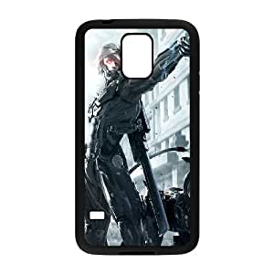 Samsung Galaxy S5 Cell Phone Case Black Metal Gear Rising Revengeance Raiden VIU175208