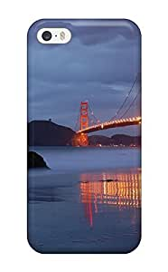 Pretty ZuRWCtN6003AxGMC Iphone 5/5s Case Cover/ Golden Gate Series High Quality Case hjbrhga1544 by ruishername