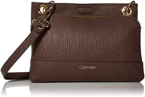 Calvin Klein Sonoma Bubble Lamb Novelty Organizational Crossbody