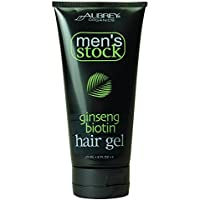Aubrey Organics: Men's Stock Ginseng Biotin Hair Gel, 6 oz