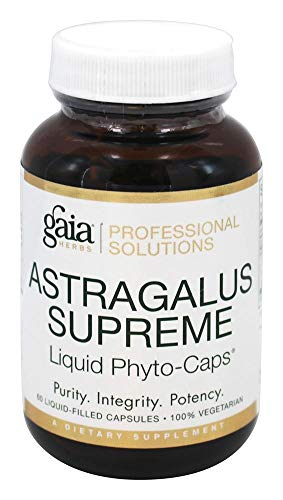 Gaia Herbs (Professional Solutions), Astragalus Supreme 60 lvcaps (Herbs Gaia Astragalus Supreme)