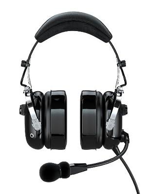 FARO G2-PNR Premium Pilot Aviation Headset with Mp3 Input, Black by FARO