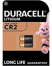 Duracell Specialty zilveroxide knoopcel 1,55 V (SR44/V357/V303/SR44W/SR44SW) ontwikkeld voor gebruik in horloges, rekenmachines en medische apparaten) Grootte CR2 2 Stuk oranje/zwart
