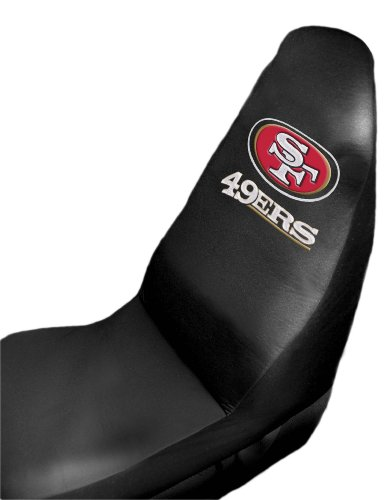 san francisco 49ers seat covers price compare. Black Bedroom Furniture Sets. Home Design Ideas