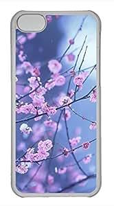 iPhone 5c case, Cute Plum Blossom iPhone 5c Cover, iPhone 5c Cases, Hard Clear iPhone 5c Covers