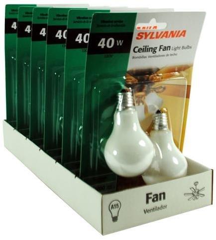 40 Watt A15 Ceiling Fan Bulbs