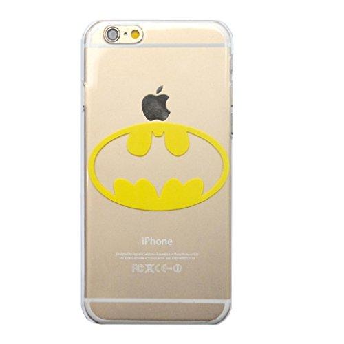 Comic Book Super Hero Bat Signal Hard Snap on Phone Case (iPhone 6 4.7inch)