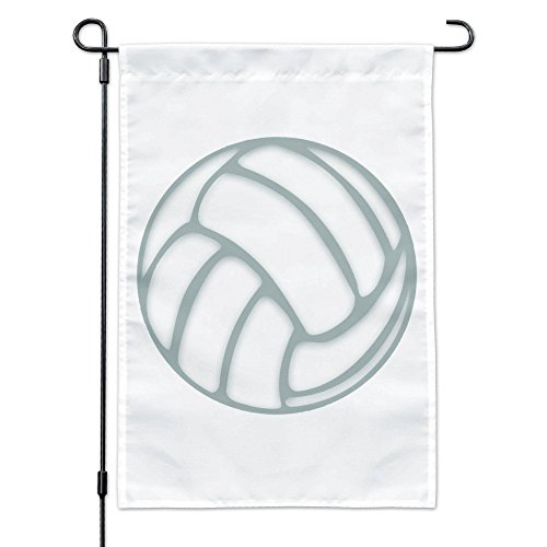 Graphics and More Volleyball Ball Garden Yard Flag with Pole