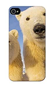 AiYlsdY1613EOPBQ Polar Bear Cubs Awesome High Quality Iphone 5/5s Case Skin/perfect Gift For Christmas Day