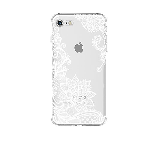 Coac3 Lace Mandala Case For iPhone X 8 7 6 6S Plus 5 5S SE 5C 4 4S For Xiaomi Redmi 4 4A 3S 3 S 4X Note 3 4 Pro Prime 4X Mi A1 5X 5A White for Redmi 5A