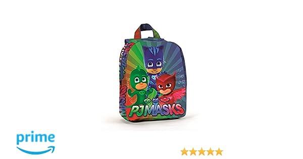 CORIEX PJ Máscaras Pijama Héroes a95762 Niños Mochila, 27 Centimeters, poliéster, Multicolor, Catboy, eulette, Gecko: Amazon.es: Juguetes y juegos