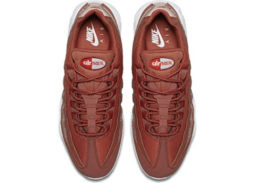 Nike Air Max 95 Premium SE Mens Running Trainers 924478 Sneakers Shoes (UK 9.5 US 10.5 EU 44.5, Dusty Peach White 200) by Nike (Image #4)