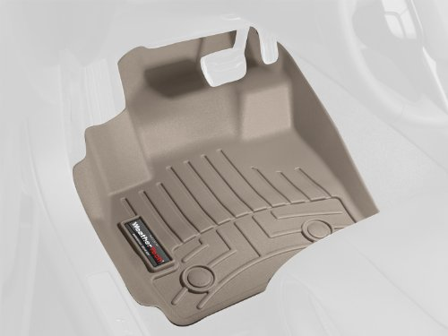WeatherTech Custom Fit Front FloorLiner for Ford F150 Regular Cab, Tan