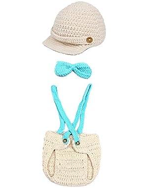Cute Cartoon Unisex Baby Bear Winter Beanies Knitting Wool Hat