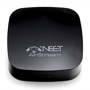 Neet® - WiFi Wireless Music Receiver - AIRPLAY + DNLA - for APPLE (iPhone,  iPad, iPod touch, Mac), ANDROID (phones, tablets), WINDOWS (Laptop, PC) -