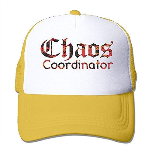 95be0f092b3 Chaos Coordinator Funny Women Summer Adjustable Mesh Baseball Caps ...