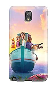 Awesome Design Cloudy With A Chance Of Meatballs 2 Movie Hard Case Cover For Galaxy Note 3