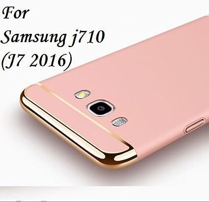 hot sale online 81e8f ec175 MOBITUSSION 3-in-1 Back Cover for Samsung J7(Rose Gold)