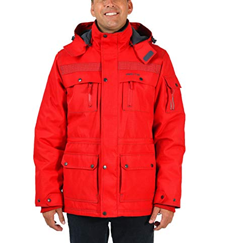 ance Tundra Jacket with Added Visibility, XX-Large, F Red ()