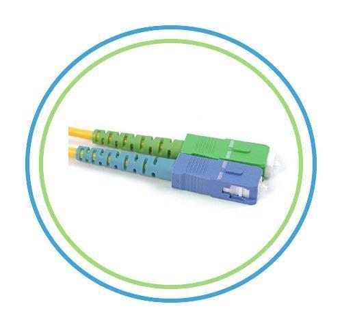 PacSatSales 3M Single-Mode SIMPLEX SC/APC to SC Patch Cable