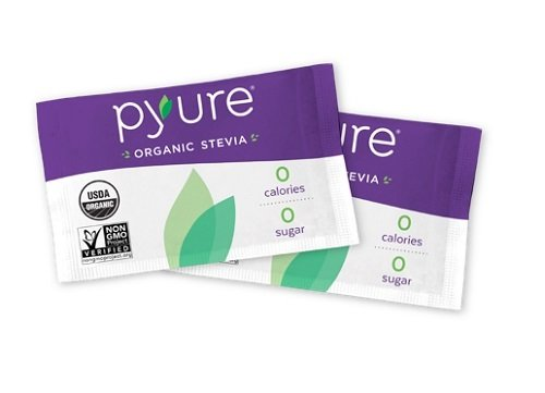 Organic Stevia Sweetener Packets, 0 Calorie, Sugar Substitute, 300Count by Pyure (Image #6)