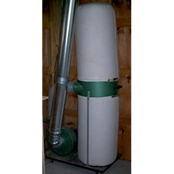 Central Machinery 2 HP Industrial 5 Micron Dust Collector - Vacuum on