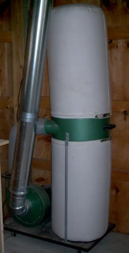 Central Machinery 2 HP Industrial 5 Micron Dust Collector by Central Machinery