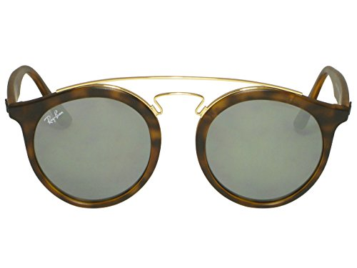 Ray Ban RB4256 6092/5A Matte Havana / Gold Mirror Sunglasses - Ray Rb4256 Ban