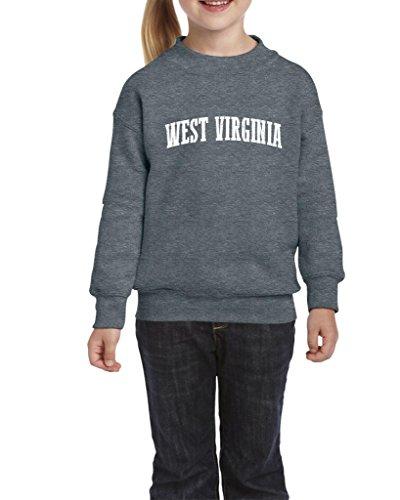 Ugo WV West Virginia Charleston Mountaineers Home West Virginia University Unisex Youth Kids Crewneck Sweater - West Kids Village