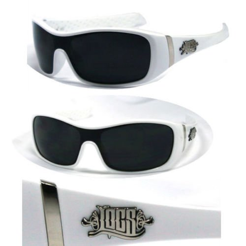 White Locs Hard Core OG Dark Style Shades Gangster Sunglasses NEW - Wholesale Sunglasses Inexpensive