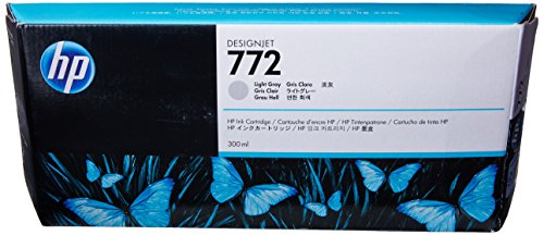 HP 772 300ml Light Gray Designjet Ink Cartridge in Retail Packaging (CN634A)