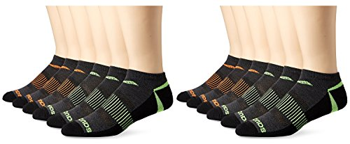 Competition Pair Socks Toe Smooth 12 Support Saucony No Arch Seam Asst Grey and Show Men's H5wUS7q