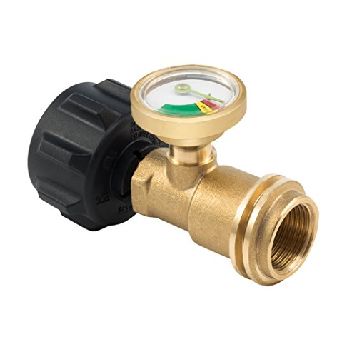 Propane Gas Guage meter, Tank Gauge/Leak Detector Brass Lead-free Propane Tank Cylinders Gas Pressure Meter, By E-Starlet - Detector Electronics Fire Protection
