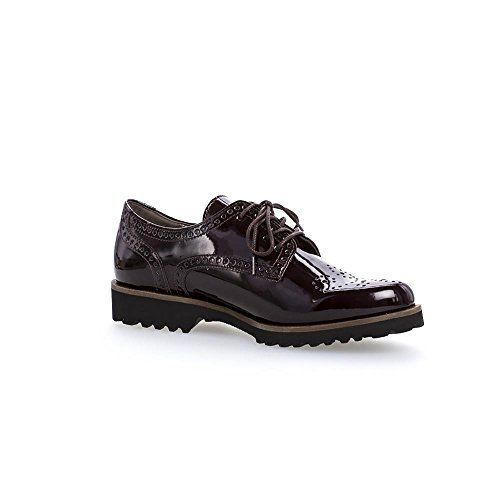 Gabor Damesko 71.410.51 Damer Lace Up Brogues, Schurer, Laced Merlot (cognac)