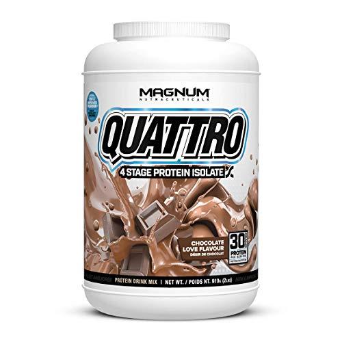 Quattro Chocolate Love Lactose-Free Protein Powder for Men & Women (2 lbs.)