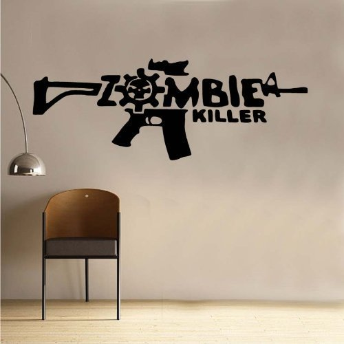 Call Of Duty Zombie Labs Decal Vinyl Wall Sticker Gamer Decor (18'' x40'') by Advancedecalshop