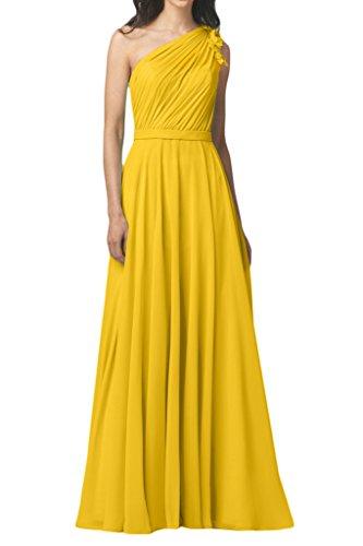 Missdressy -  Vestito  - linea ad a - Donna oro 38