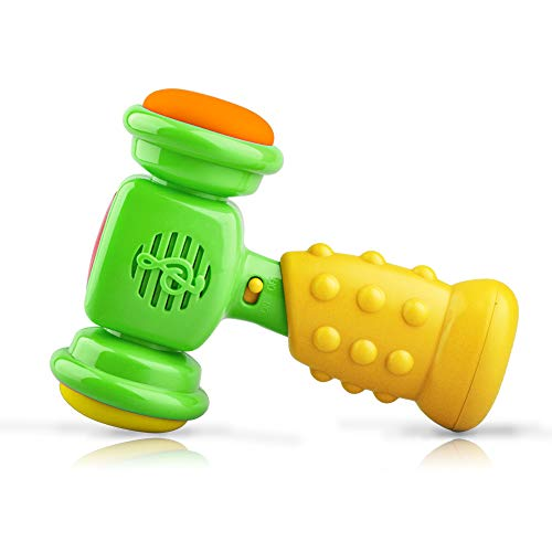 SUGOO Toy Gift for 1-3 Year Old Girls Kids, Rattle Toy for 2 Year Olds Baby Children Toy Age 6-12 Month Boy Birthday Present for Girls Gift for 3 Year Old Boy Music Rattler