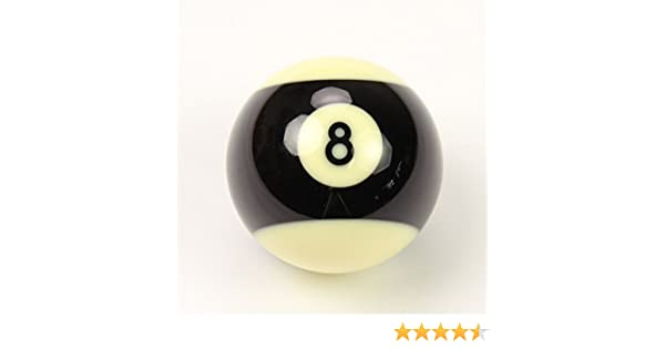 SUPER ARAMITH PRO 2 BLACK STRIPED 8 BALL** by Aramith: Amazon.es ...