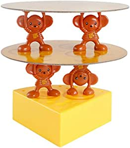 Table Board Game Mouse Stacked Cheese Stack Layer tower