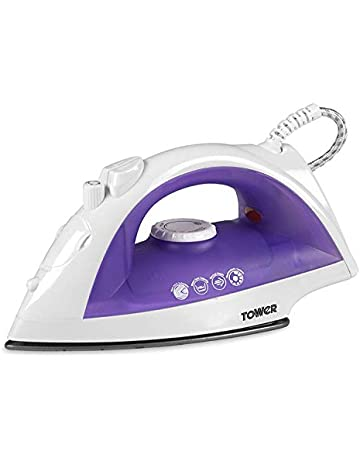 1fbcbd4c437 Save on Tower T22003 Steam Iron with Non Stick Soleplate and Extra Long 2 m  Cord