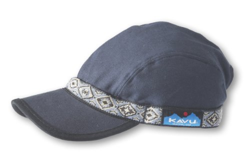 KAVU Men's Strapcap, Navy, Large, Strap color/Pattern may vary