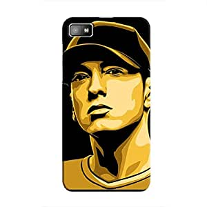 Cover It Up - Eminem Renegade BlackBerry Z10 Hard Case